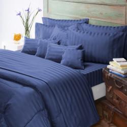 Sábanas 2 1/2 plzs Jacquard azul Nautica