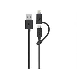Cable Usb Key Datos Cargador A Micro Usb + Lightning iPhone