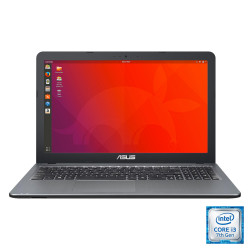 Notebook Asus 15 i3 7020U Sistema operativo Linux