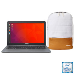 Notebook Asus 15.6 I5-8250U Con Sistema Operativo Endless 3 + Mochila Mobox de Regalo