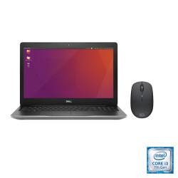 Notebook Dell 15.6 Inspiron 3581 I3-7020U Sistema Operatvio Ubuntu + Mouse Dell Wireless