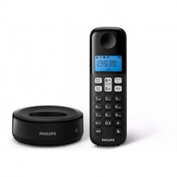 Telefono Inalambrico Philips D1311B Negro Manos Libres