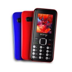 Celular Kanji Dual Sim Bluetooth Mp3 32 Mb Kj-fon Rojo