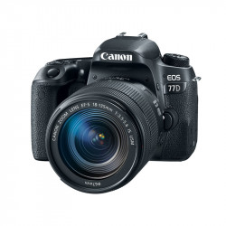 CAMARAS DSLR CANON 77D 18-135 IS USM