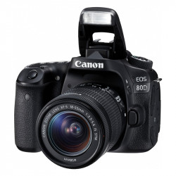 CAMARAS DSLR CANON 80D(W)18-135 IS USM