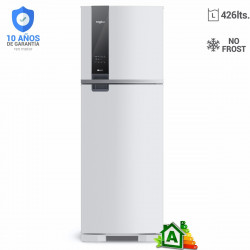HELADERA NO FROST WHIRLPOOL 426 L WRM54AB CON FREEZER