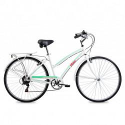 """Bicicleta Paseo Dama Freetime Plume 285+ 28"""" Blanca Olmo (1BO1412-18BL)"""
