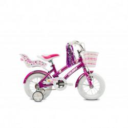 """Bicicleta Niña Tiny 12"""" V-Brake Violeta Olmo (1BO1701-00VI)"""