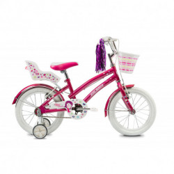 """Bicicleta Niña Tiny 16"""" V-Brake Rosa Olmo (1BO1703-00RS)"""