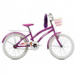"""Bicicleta Niña Tiny 20"""" V-Brake Violeta Olmo (1BO1705-00VI)"""