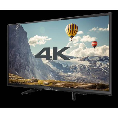 """SMART TV 60"""" KANJI KJ-6XST005 4K UHD LED HDMI USB REMOTO"""