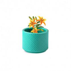 Maceta Cilindro verde