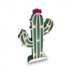 Lampara Cactus led MDF