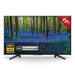 Smart Tv Sony Led 49 Pulgadas 4k Ultra Hd Netflix Youtube KD-49X725F