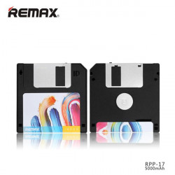 POWERBANK REMAX 5000 mAh DISKETTE VINTAGE RPP-17 NEGRO BLACK
