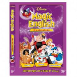 Dvd/Blu-Ray/Cd Disney Magic English de La Cabeza a Los Pies