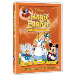 Dvd Disney Magic English Colores, Números y Música