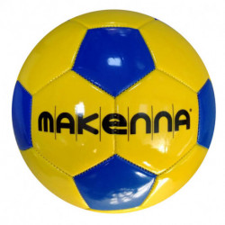 Pelota N°5 Makenna S5mpvc Amarillo con Azul