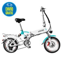 Bicicleta electrica rodado 16 Blanca