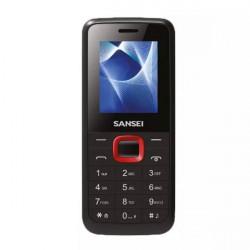 CELULAR SANSEI S191 2G MP3 BLUETOOTH DUAL SIM NEGRO