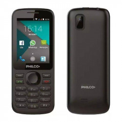 CELULAR PHILCO P241 3G WIFI WHATSAPP FACEBOOK DUAL SIM NEGRO