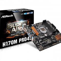 MOTHER ASROCK H170M PRO4S S1151 OC DDR4 USB 3.1 6TA Y 7MA GEN