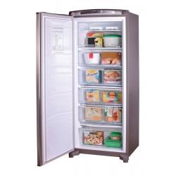 Freezer Vertical Whirlpool Wvu27k1 260 Litros Inoxidable Tecnologia Evox Cíclico Puerta Reversible