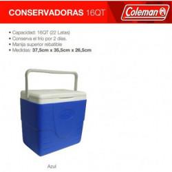 CONSERVADORA COLEMAN BEACH 16QT AZUL