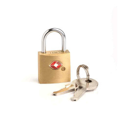 Candado tsa metalico para valijas con llave