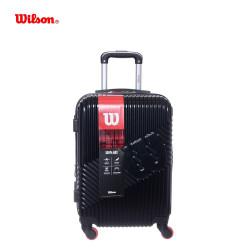"""Valija carry on abs negra 20"""" Wilson"""