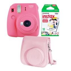 Camara Fuji instantanea instax mini 9 rosa flamenco
