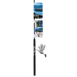 COMBO SHAKESPEARE SURF PIER CAÑA 10-25 LB 2TS 2,40 MTS REEL 50 KIT