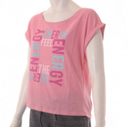 REMERA TOPPER GTW LOOSE FEEL THE ENERGY MUJER
