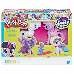 My Little Pony Play Doh Moda Divertida
