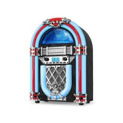 Rockola Victrola Radio Fm Size 15 10 Watts Led Tubes Vjb-127