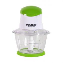 Picadora 500w Peabody blanca y verde