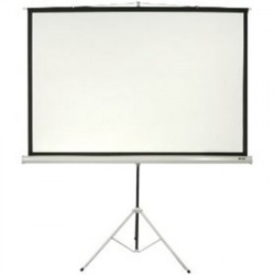 "Pantalla para Proyector INTELAID IT-TPS120 - 120"", Manual, C/Tripode"