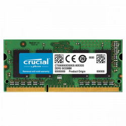 MEMORIA CRUCIAL DDR3 4GB 1600MHZ (PC3L-12800) CL11 SODIMM (CT51264BF160BJ)
