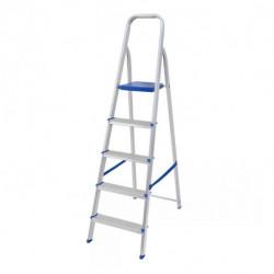 Escalera de aluminio 5 peldaños Mor