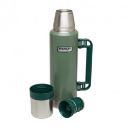 Termo Stanley clasico 1,4 lts plegable verde (10-08999-006)