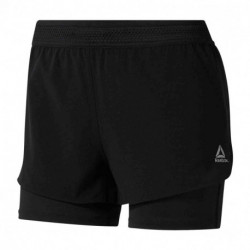 SHORT REEBOK ONE SERIES RUNNING EPIC 2-IN-1 MUJER