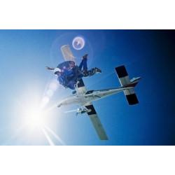 Salto en Paracaídas cerca de Rosario Video y Foto