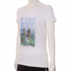 REMERA TOPPER WILD SURF MUJER