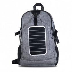 Mochila con Panel Solar + Powerbank 4500mAH Bolsillo Antirrobo EXO