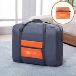 Bolso Plegable de Viaje con Bolsillo Naranja
