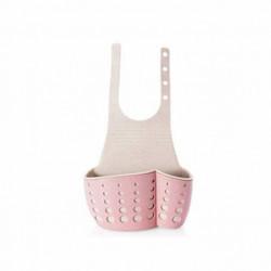 Porta Esponjas colgante rosa