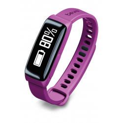Reloj Beurer As81 Sensor De Actividad Y Sueño C/ Bluetooth Violeta