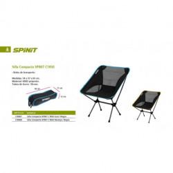 SILLA COMPACTA SPINIT C1850 AZUL/NEGRA