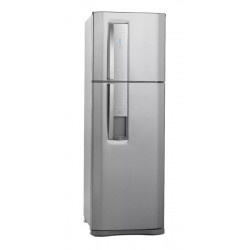 Heladera No Frost Electrolux Dw44s Acero Inoxidable 420 Lts