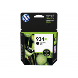 Cartucho HP 934XL NEGRO